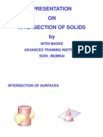 Intersection of Solids