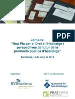 130314 AVS JTPlaHabitatge PerspectivesFutur