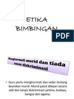 etika  bimbingan