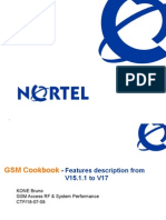 Training4 Nortel Feature Evolution V15.1.1 to V17