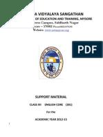 English Study Material KVS 2012 Class XII