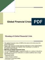 Global Financial Crisis.