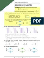 48 fracciones equivalentes