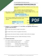 60 Calculo de Cantidades Proporcionales