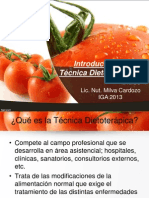 1ra Clase Dietoterapica
