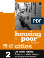 31595011 Low Income Housing Approaches to Help the Urban Poor Find Adequate Accommodation