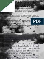 Battle of Britain (July-September) 1940
