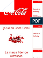 Gerencia de Marketing - Caso Coca Cola v.2