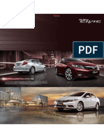 All New Civic Brochure