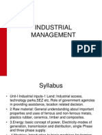 62264656 Industrial Management