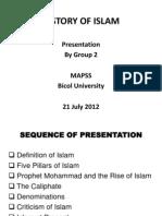 History of Islam Presentation