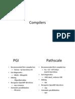 Basics Compilers