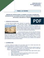 Temario de Literatura Latin 2