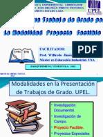 Nuevo. Como Hacer Un Trabajo de Grado Por Proyecto Factible. 1.Pptx