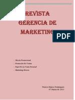 Revista Gerencia de Marketing Taller 2
