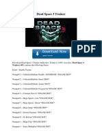 Dead Space 3 Trainer