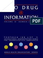 WHO Drug Information
