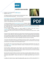 Why Wood Pulp is Worlds New Wonder Material - New Scientist - Aug 2012