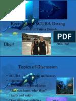Scuba Diving Presentation Complete Light Color