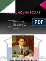 MANUEL ROXAS Presentation (1)
