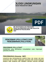 [2] BahanKuliah Ekotoksikologi ToksikologiLingkungan Revisi 2009