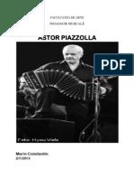Piazzola, Astor Short Story