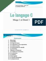 Cours C Miage Dietel