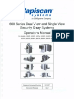 Rapiscan Systems X Ray Scanner