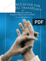 Resource guide for stem cell transplant