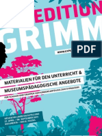 EXPEDITION GRIMM - Materialien für den Unterricht & museumspädagogische Angebote