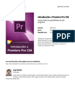 Introduccion a Premiere Pro Cs6