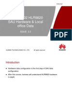 03-HLR9820 SAU Hardware & Local Office Data ISSUE2.2