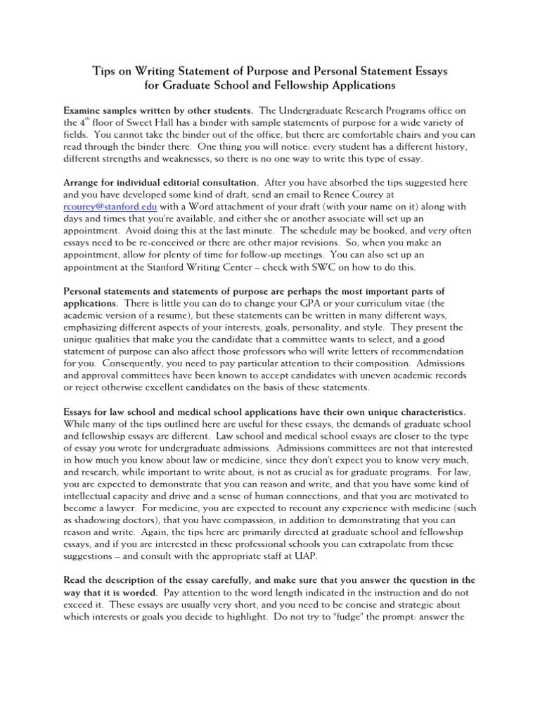 kaust personal statement