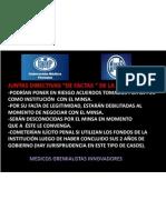 JUNTAS DIRECTIVAS 2013 FMP-ANMMS SON DEMOCRÁTICAMENTE ESPUREAS