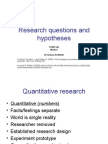 Research course 2