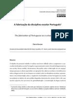 BUNZEN, C. -  A fabricação da disciplina escolar portugues