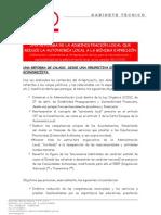 18-02-2013 ESTUDIO GABINETE TÉCNICO REFORMA LEY VERSION CONSEJO MINISTROS