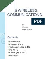4g Wireless Communications