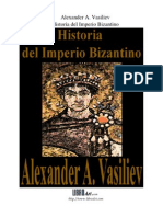 Libro Alexander a. Vasiliev. Historia Imperio Bizantino