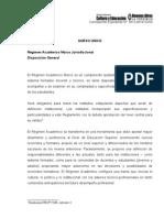 Resolución Nro.4043-09 - Régimen Académico Marco