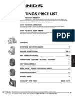 Price Book Fittings