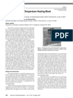 Low-Cost Constant Temperature Heating Block