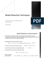 Model Reduction Techniques