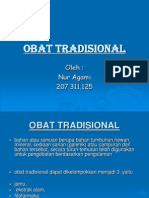 Obat Tradisional - One