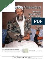 Vassar Chronicle, May 2011