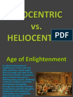 Heliocentric vs Geocentric