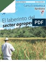 """4ª Carta Económica """"El laberinto del sector agropecuario"""""""