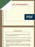 Tema 35 Farmacogenetica