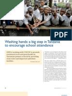 A Big Step in Tanzania to Encourage School Attendance