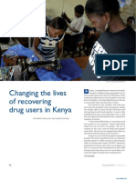 Changing the Lives of Recovering Drug Users in Kenya